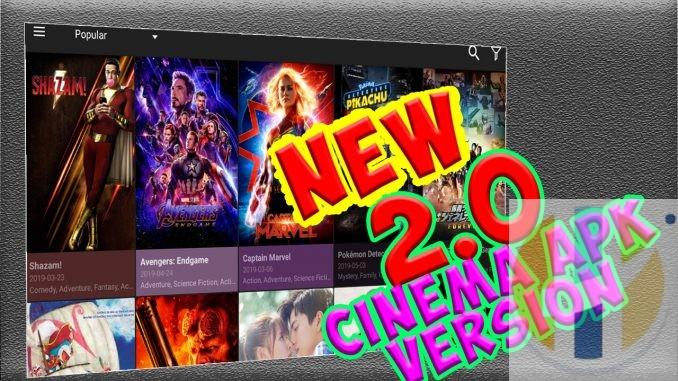 Best Movie Showbox and Terrarium TV Replacement - CINEMA APK