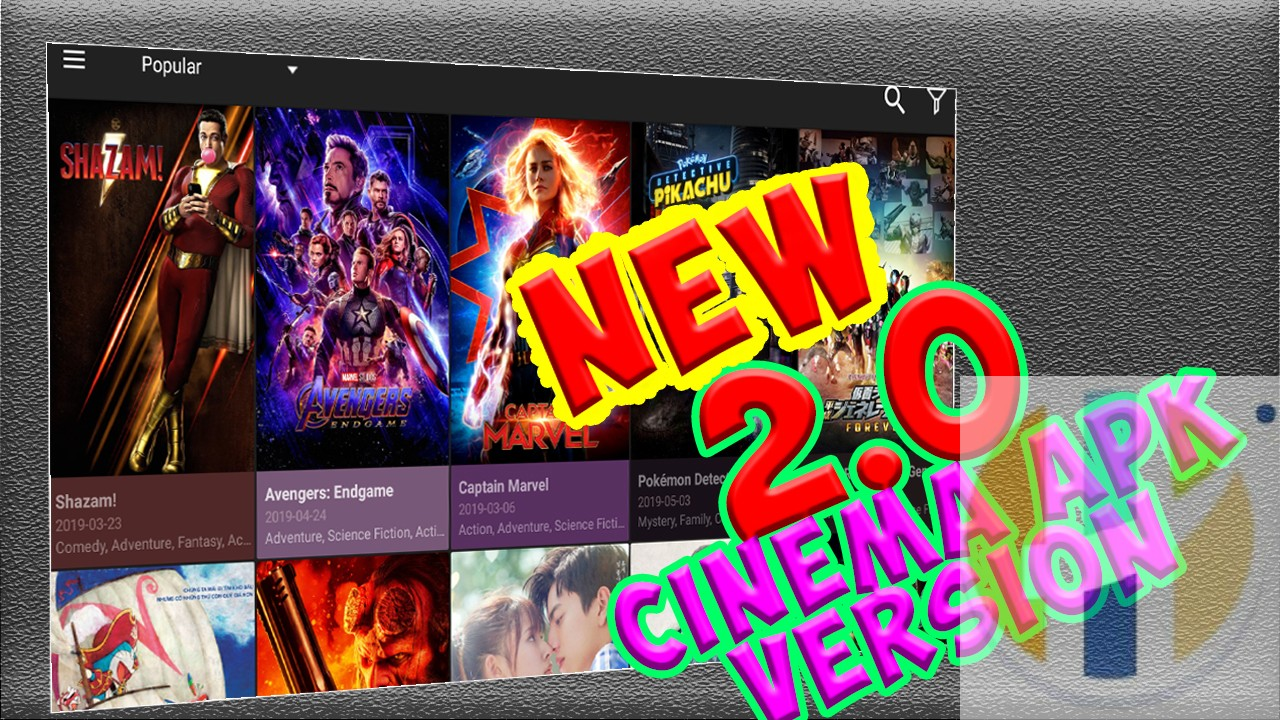 Best Movie Showbox and Terrarium TV Replacement - CINEMA APK