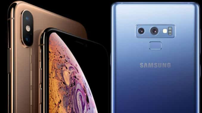 iPhone Xs Max vs Samsung Galaxy Note 9 - Which flagship phablet comes out on top?