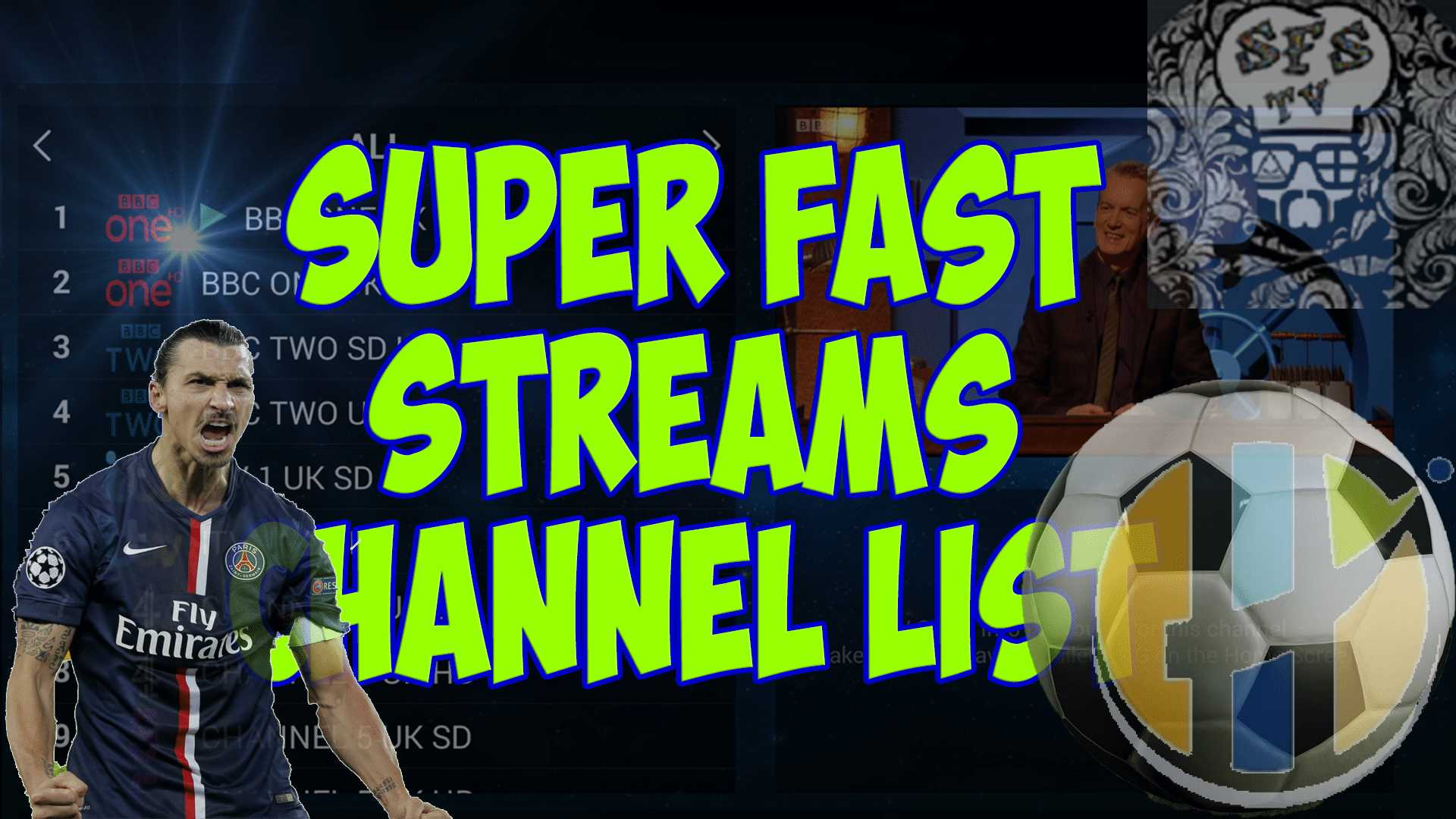 SuperFast Streams IPTV Channel list 03/10/2018 - Husham com IPTV