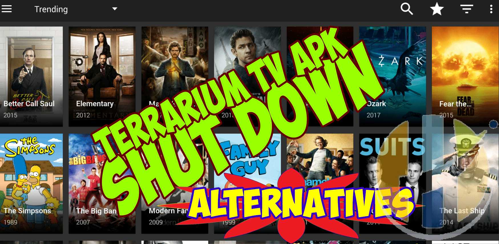 Terrarium TV APK Shutdown get the latest - Terrarium APK