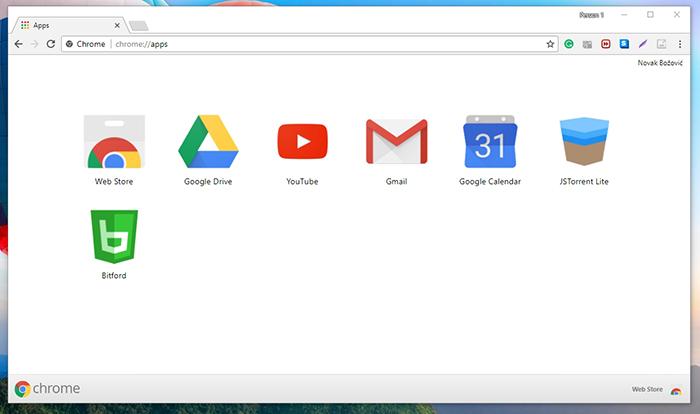 Bitford Chrome Apps