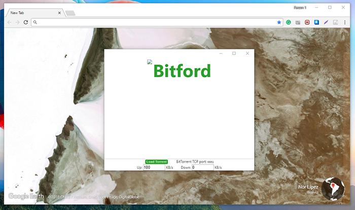 BitFord Homescreen