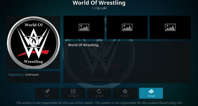 World of Wrestling Addon Guide - Husham com