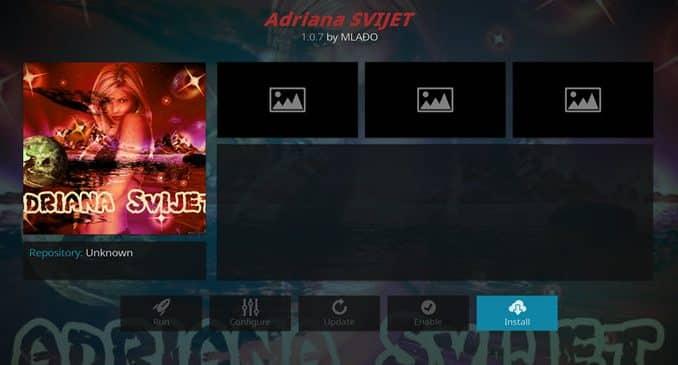 Adriana Svijet Addon Guide - Kodi Reviews