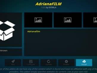 AdrianaFilm Addon Guide - Kodi Reviews