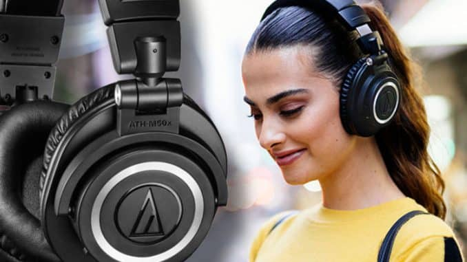Audio-Technica M50x get a Bluetooth wireless makeover with the launch ATH-M50xBT
