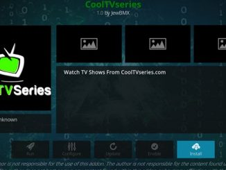 CoolTVSeries Addon Guide - Kodi Reviews