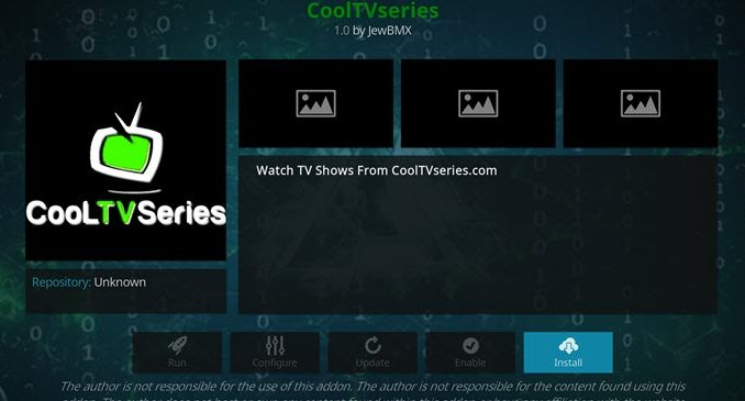 CoolTVSeries Addon Guide - Kodi Reviews