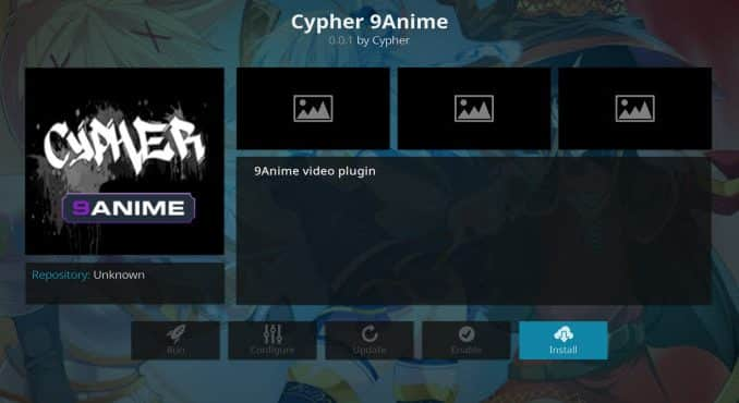 Cypher 9Anime Addon Guide - Kodi Reviews