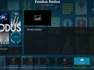 Exodus Redux Addon Guide - Kodi Reviews