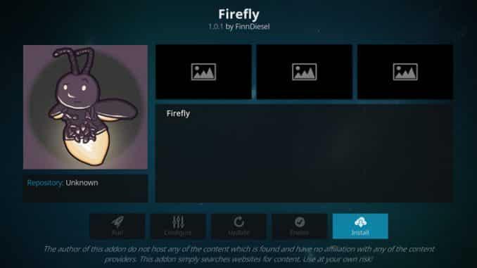 Firefly Addon Guide - Kodi Reviews