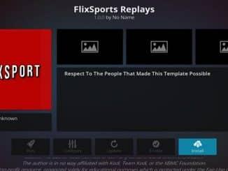 FlixSport Replays Addon Guide - Kodi Reviews