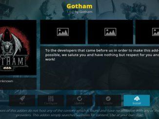 Gotham Addon Guide - Kodi Reviews