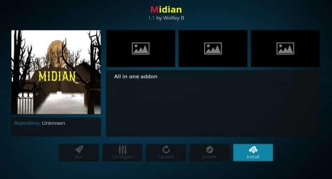 Midian Adddon Guide - Kodi Reviews