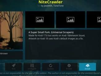 NiteCrawler Addon Guide - Kodi Reviews
