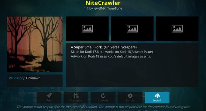 NiteCrawler Addon Guide - Kodi Reviews