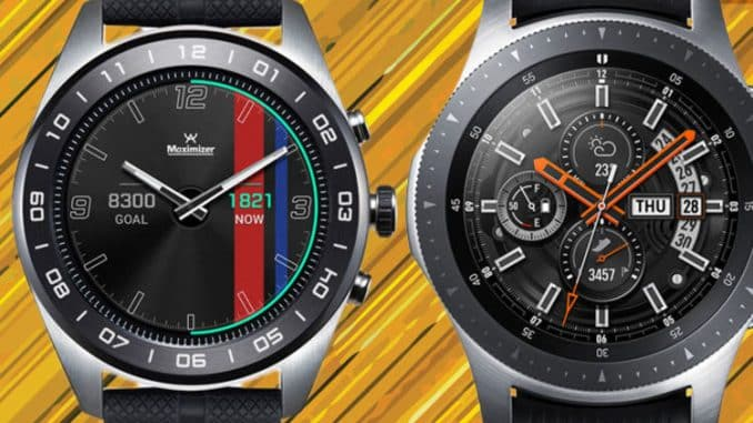 Samsung's Galaxy Watch has two new Android contenders trying to steal its crown