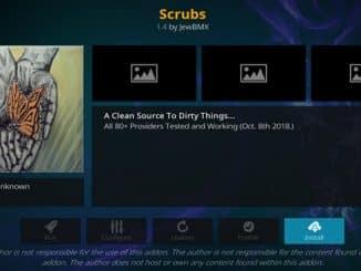 Scrubs Addon Guide - Kodi Reviews