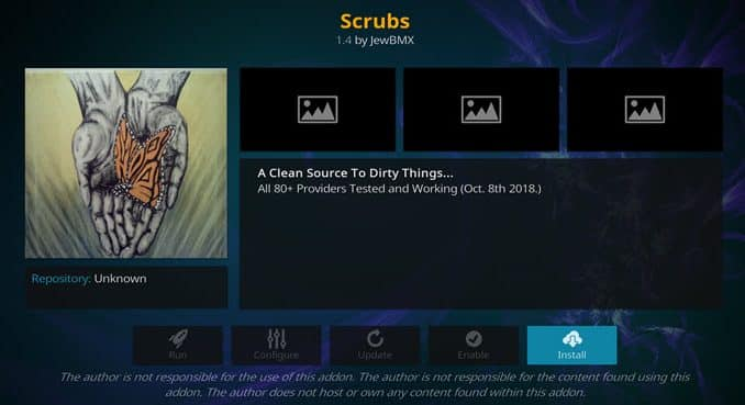 Scrubs Addon Guide - Kodi Reviews