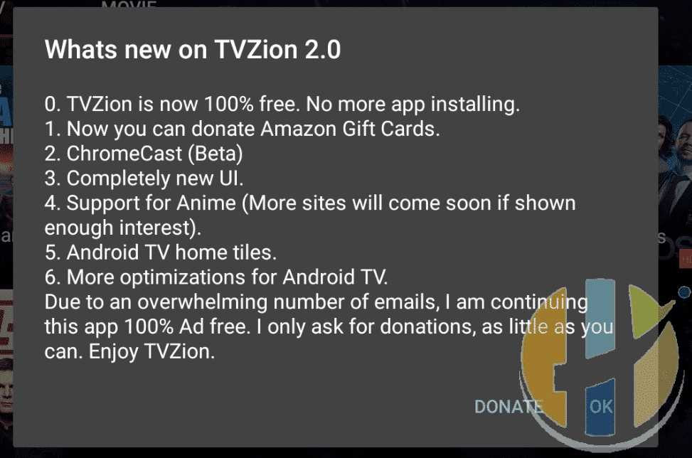 TVZion APK 2 0 Movies TV Shows Download link here - Husham com