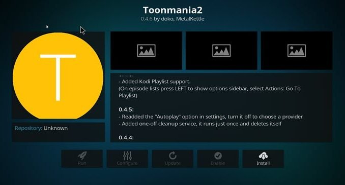 ToonMania2 Addon Guide - Kodi Reviews