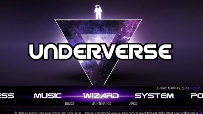 Underverse Kodi Build – The Best New Lightweight Build for Kodi!