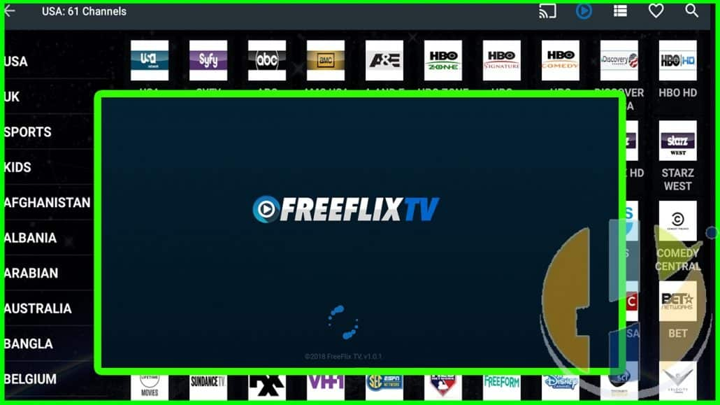 FREEFLIX TV OR NETFLIX IPTV and Adult Live TV - Husham com APK