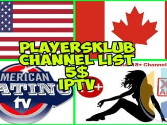 ACE TV IPTV Channel list 09/01/2019 with Adult XXX channels