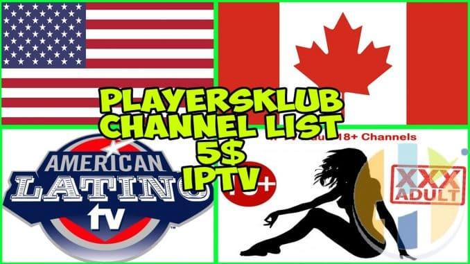 Playersklub IPTV channel list 10/10/2018 - Husham com IPTV