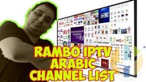 Rambo IPTV Arabic Channel list