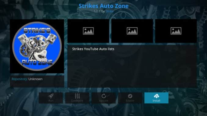 Strike's Auto Zone Addon Guide