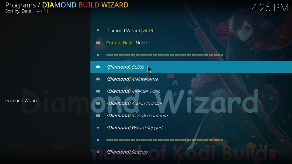diamond dust kodi build