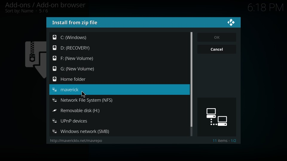 how to get at the flix kodi addon