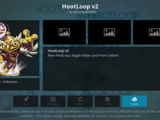 how to install hootloop v2 kodi addon