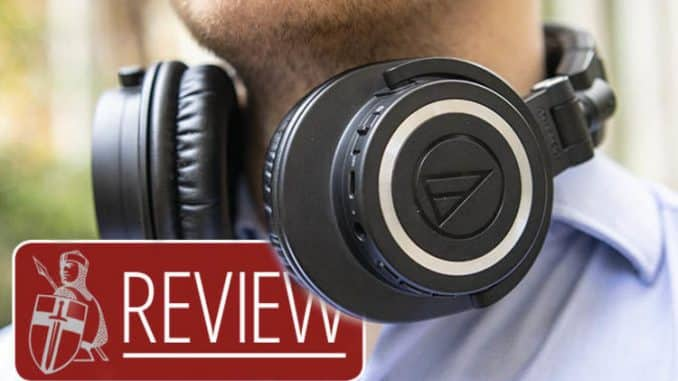 Audio Technica ATH M50x BT REVIEW - Are these the best wireless headphones under £200?