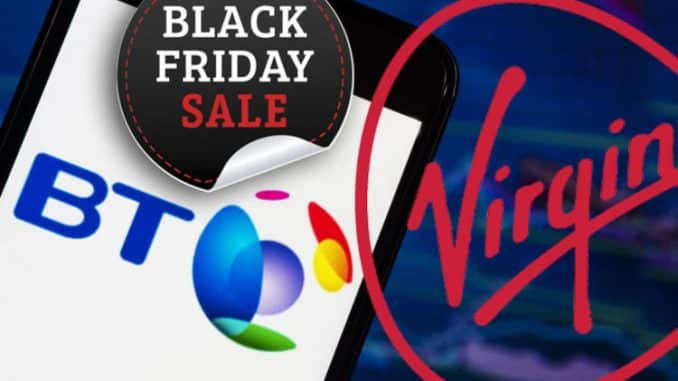 BT Broadband Black Friday deal takes on Virgin Media with big savings available TODAY