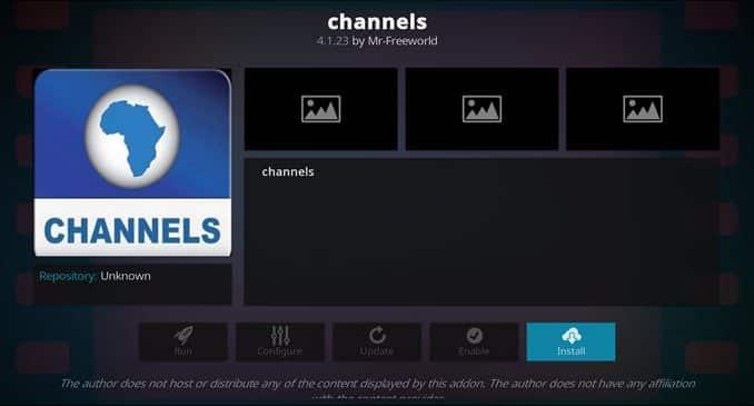 Channels Addon Guide - Kodi Reviews