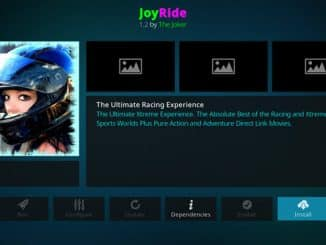 JoyRide Addon Guide - Kodi Reviews