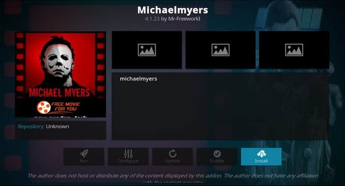 Michaelmyers Addon Guide - Kodi Reviews