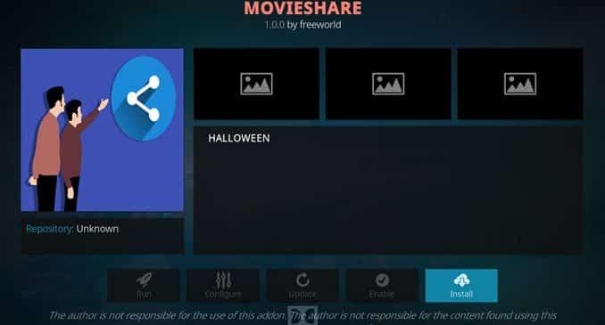 MovieShare Addon Guide - Kodi Reviews