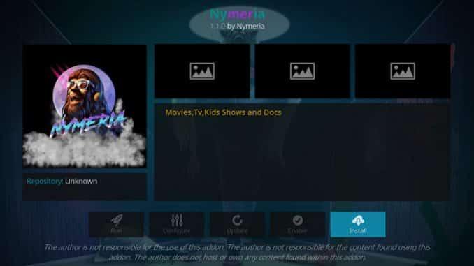 Nymeria Addon Guide - Kodi Reviews