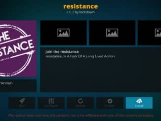 Resistance Addon Guide - Kodi Reviews