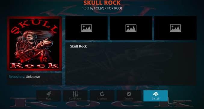 Skull Rock Addon Guide - Kodi Reviews