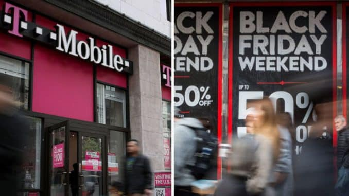 T-mobile Black Friday deals: iPhone, Samsung Galaxy and LG offers available - LIVE NOW