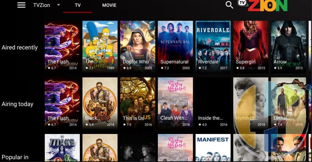 Tvzion 31beta3 Apk Streaming Plus Torrent Streaming Movies Tv