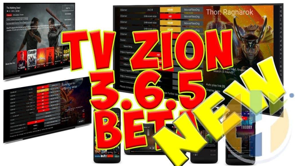 TVZION V3 6 5 APK MOVIES TV SHOWS FIRESTICK FIRE TV NVIDIA SHIELD