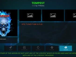 Tempest Addon Guide - Kodi Reviews