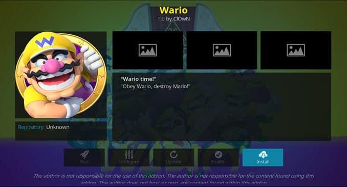 Wario Addon Guide - Kodi Reviews
