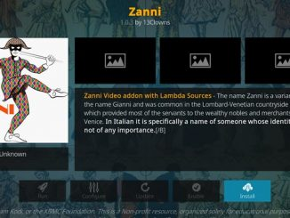 Zanni Addon Guide - Kodi Reviews